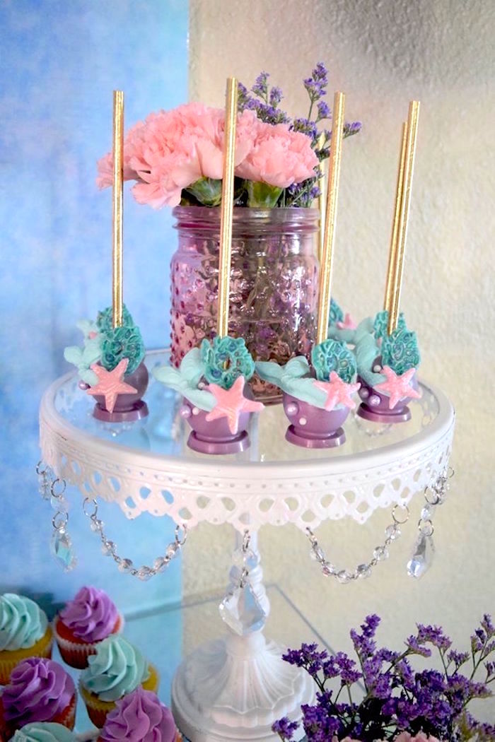 Kara S Party Ideas Pastel Quot Let S Be Mermaids Quot Birthday