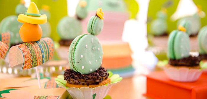 Pastel Fiesta Cactus Birthday Party on Kara's Party Ideas | KarasPartyIdeas.com (2)