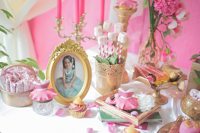 Details from a Perfectly Pink Sleeping Beauty Birthday Party on Kara's Party Ideas | KarasPartyIdeas.com (14)