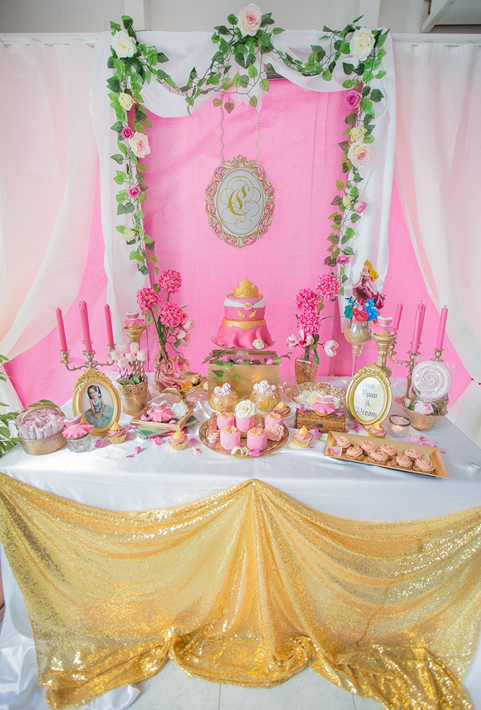Perfectly Pink Sleeping Beauty Birthday Party on Kara's Party Ideas | KarasPartyIdeas.com (12)