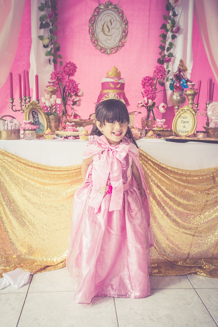 Perfectly Pink Sleeping Beauty Birthday Party on Kara's Party Ideas | KarasPartyIdeas.com (10)