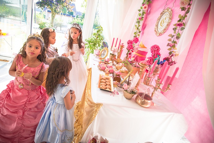 Perfectly Pink Sleeping Beauty Birthday Party on Kara's Party Ideas | KarasPartyIdeas.com (8)