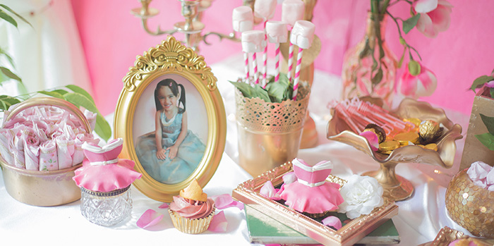 Perfectly Pink Sleeping Beauty Birthday Party on Kara's Party Ideas | KarasPartyIdeas.com (3)
