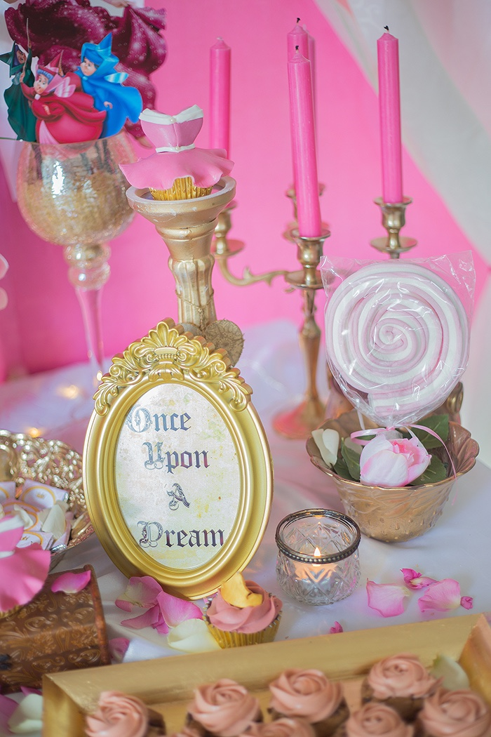 Decor from a Perfectly Pink Sleeping Beauty Birthday Party on Kara's Party Ideas | KarasPartyIdeas.com (18)