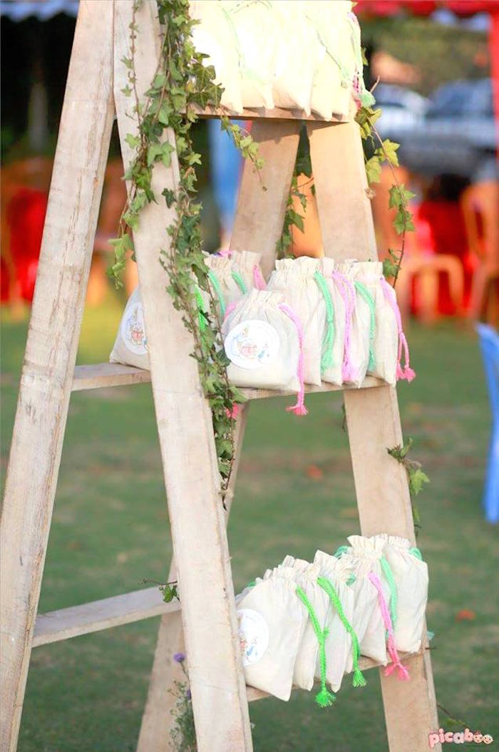 Favors from a Peter Rabbit Garden Birthday Party on Kara's Party Ideas | KarasPartyIdeas.com (25)