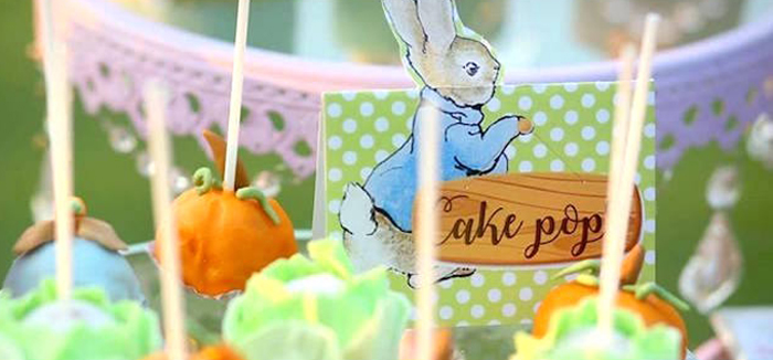 Peter Rabbit Garden Birthday Party on Kara's Party Ideas | KarasPartyIdeas.com (6)