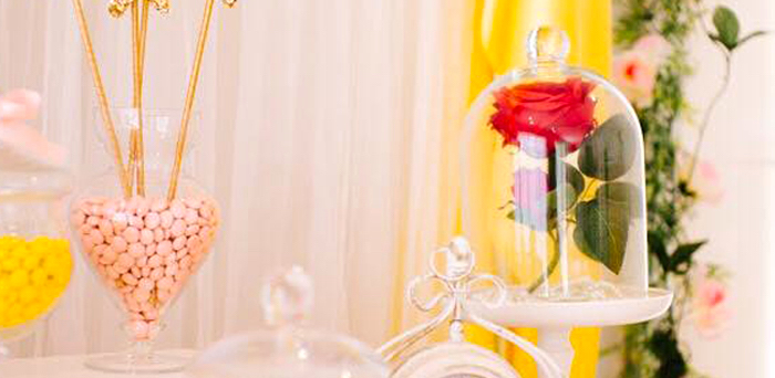 Princess Belle Inspired Beauty and the Beast Birthday Party on Kara's Party Ideas | KarasPartyIdeas.com (2)