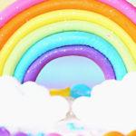 Rainbow Heart Birthday Party on Kara's Party Ideas | KarasPartyIdeas.com (2)