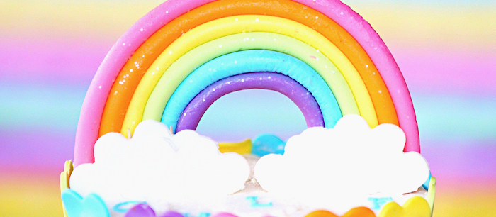 Rainbow Heart Birthday Party on Kara's Party Ideas | KarasPartyIdeas.com (2)