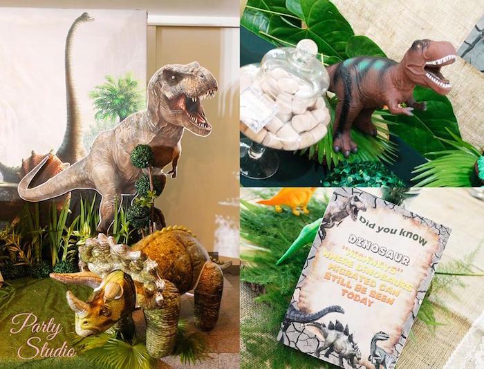 Roaring Dinosaur Birthday Party on Kara's Party Ideas | KarasPartyIdeas.com (7)