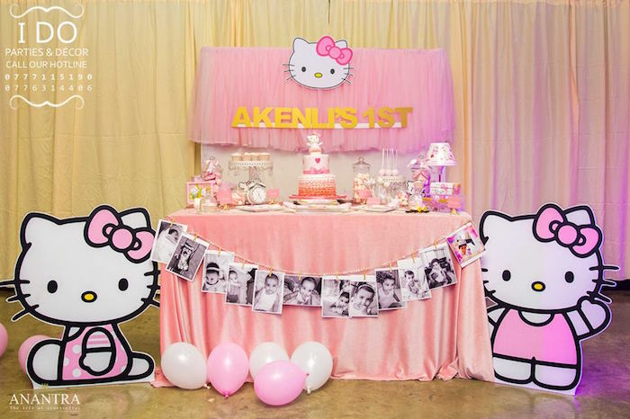 Ruffled Hello Kitty Birthday Party on Kara's Party Ideas | KarasPartyIdeas.com (22)