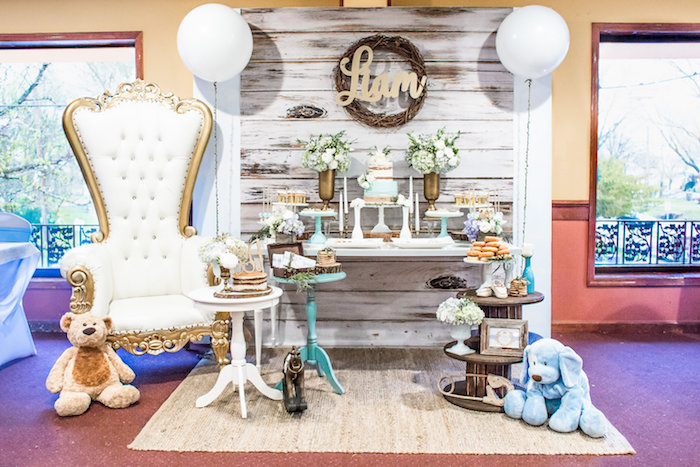 Rustic Chic Baby Shower on Kara's Party Ideas | KarasPartyIdeas.com (17)