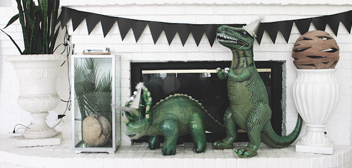 Rustic Dinosaur Birthday Party on Kara's Party Ideas | KarasPartyIdeas.com (2)