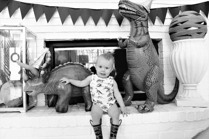 Rustic Dinosaur Birthday Party on Kara's Party Ideas | KarasPartyIdeas.com (5)