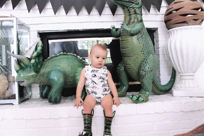 Rustic Dinosaur Birthday Party on Kara's Party Ideas | KarasPartyIdeas.com (4)
