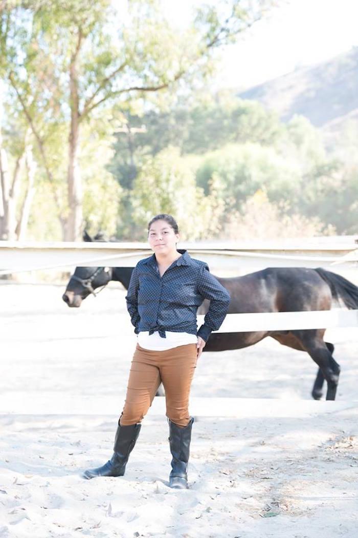 Kara's Party Ideas Rustic Equestrian Horse Birthday Party ...