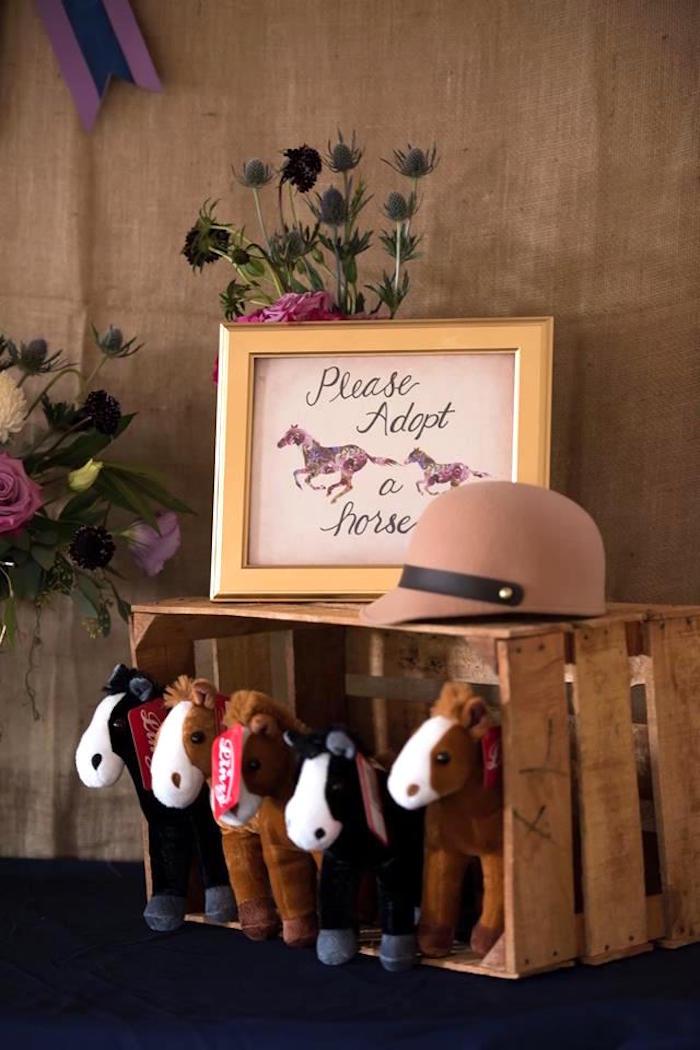 Horses Toys For Girls Birthdays : Kara s party ideas rustic equestrian horse birthday
