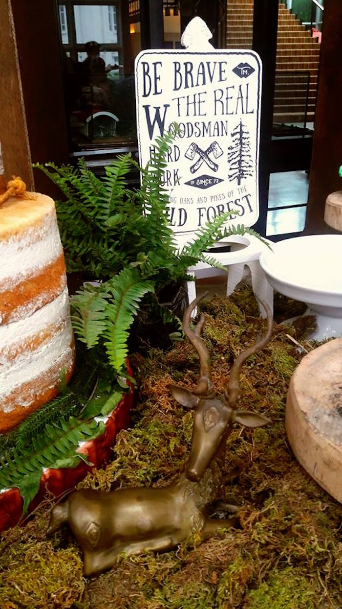 Kara S Party Ideas Rustic Woodland Camping Birthday Party