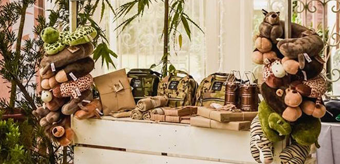 Rustic Woodland Camping Birthday Party on Kara's Party Ideas | KarasPartyIdeas.com (1)