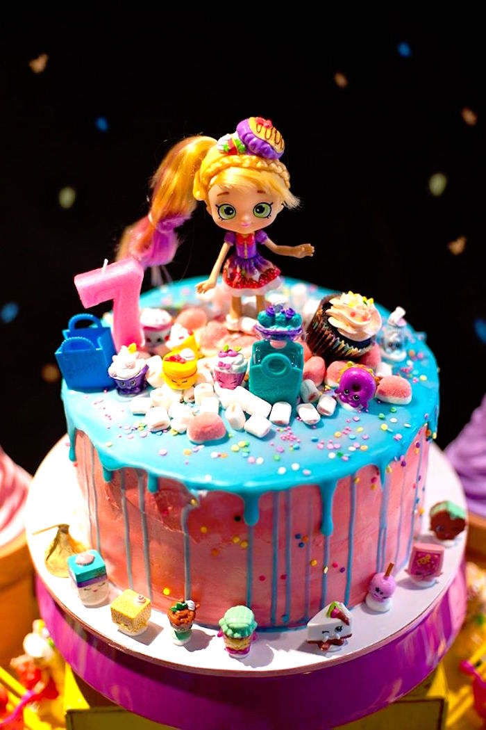 Kara S Party Ideas Lara S Shopkins Birthday Party Kara S