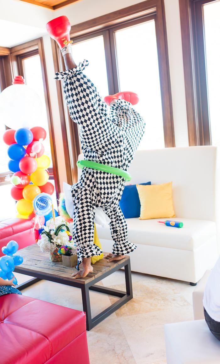 Showtime Circus Birthday Party on Kara's Party Ideas | KarasPartyIdeas.com (8)