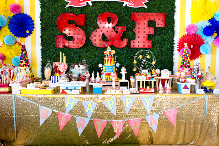 Showtime Circus Birthday Party on Kara's Party Ideas | KarasPartyIdeas.com (23)