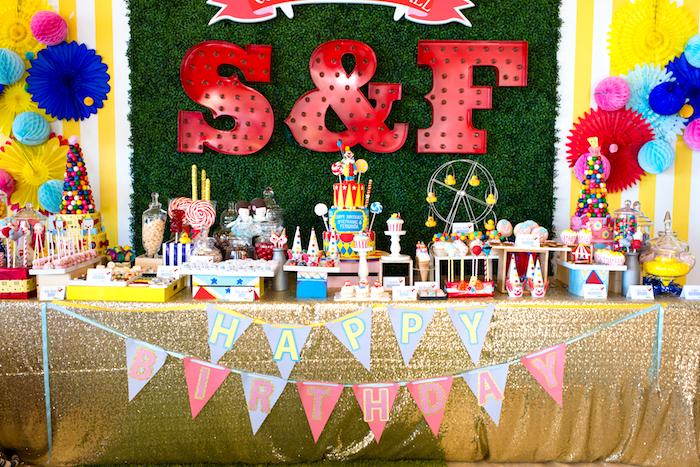 Showtime Circus Birthday Party on Kara's Party Ideas | KarasPartyIdeas.com (23)