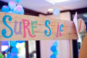 Surf Shack party signage from a Surfing Birthday Party on Kara's Party Ideas | KarasPartyIdeas.com (23)