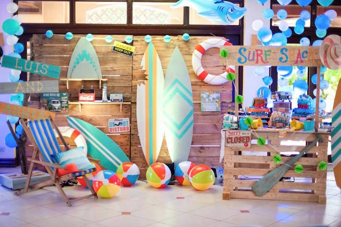 Surfing Birthday Party on Kara's Party Ideas | KarasPartyIdeas.com (22)