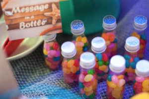 Jelly bean-filled favor bottles from a Surfing Birthday Party on Kara's Party Ideas | KarasPartyIdeas.com (13)