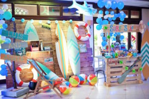 Surf Party Spread from a Surfing Birthday Party on Kara's Party Ideas | KarasPartyIdeas.com (33)