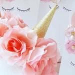 Sweet Unicorn Birthday Party on Kara's Party Ideas | KarasPartyIdeas.com (4)