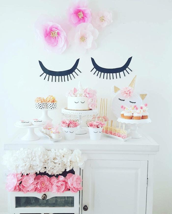 Sweet Unicorn Birthday Party on Kara's Party Ideas   KarasPartyIdeas.com (12)