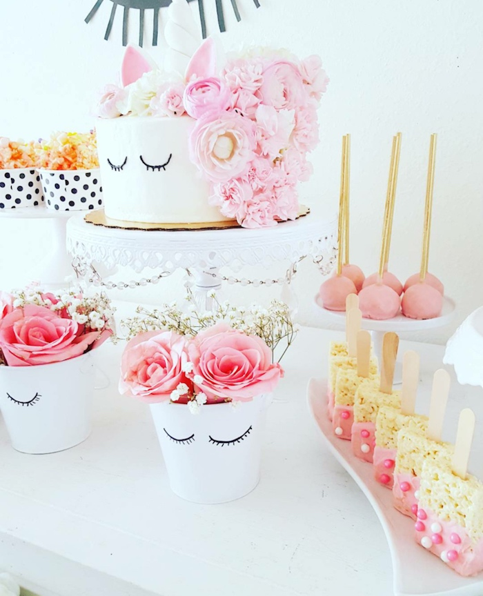 Sweet Unicorn Birthday Party on Kara's Party Ideas   KarasPartyIdeas.com (9)