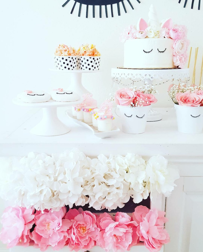 Sweet Unicorn Birthday Party on Kara's Party Ideas | KarasPartyIdeas.com (7)