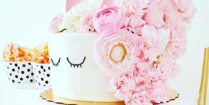 Sweet Unicorn Party - DIY Unicorn Cake on Kara's Party Ideas | KarasPartyIdeas.com (3)