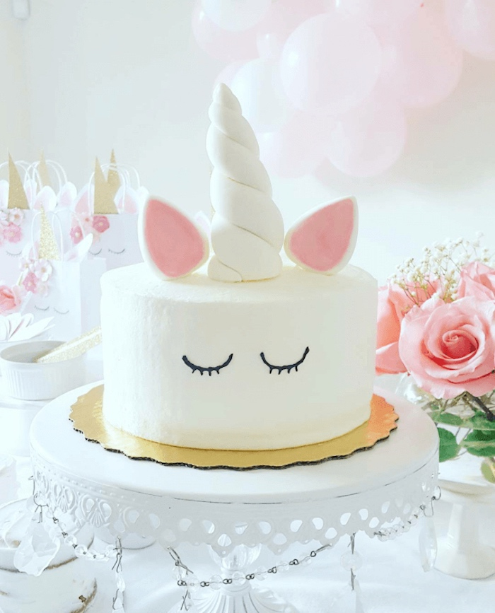 Kara S Party Ideas Sweet Unicorn Party Diy Unicorn Cake