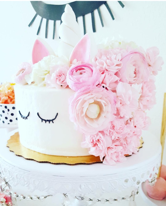Unicorn Cake From A Sweet Party