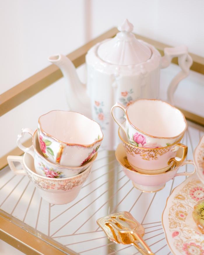 Tea cups from a Tea & Toast Mother's Day Party on Kara's Party Ideas | KarasPartyIdeas.com (30)
