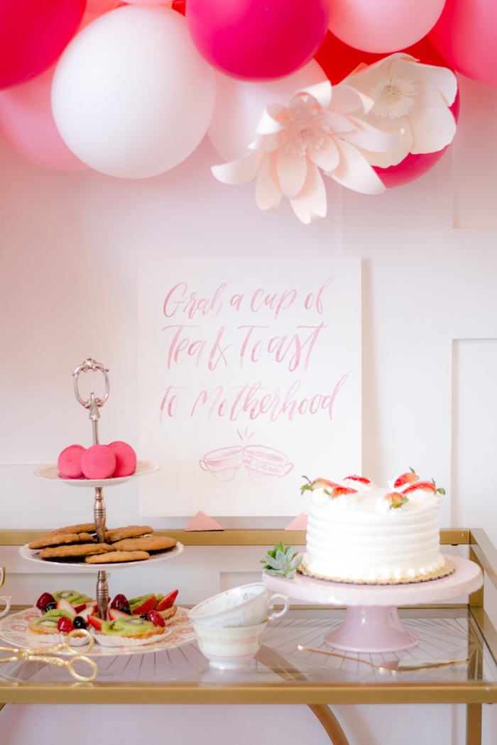 Cake & sweets from a Tea & Toast Mother's Day Party on Kara's Party Ideas | KarasPartyIdeas.com (29)