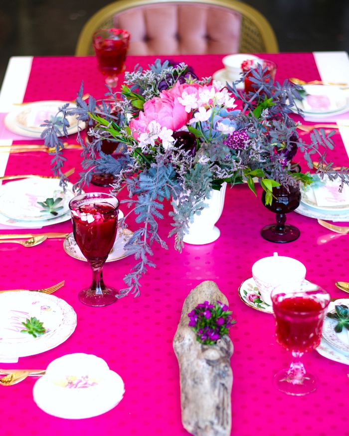 Guest table from a Tea & Toast Mother's Day Party on Kara's Party Ideas | KarasPartyIdeas.com (23)
