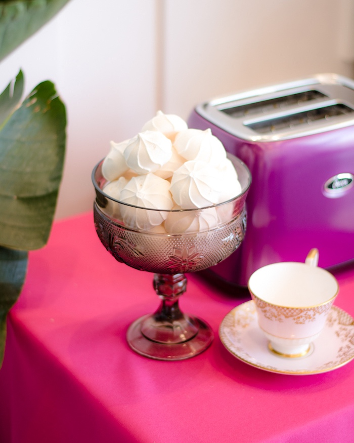 Meringues from a Tea & Toast Mother's Day Party on Kara's Party Ideas | KarasPartyIdeas.com (12)