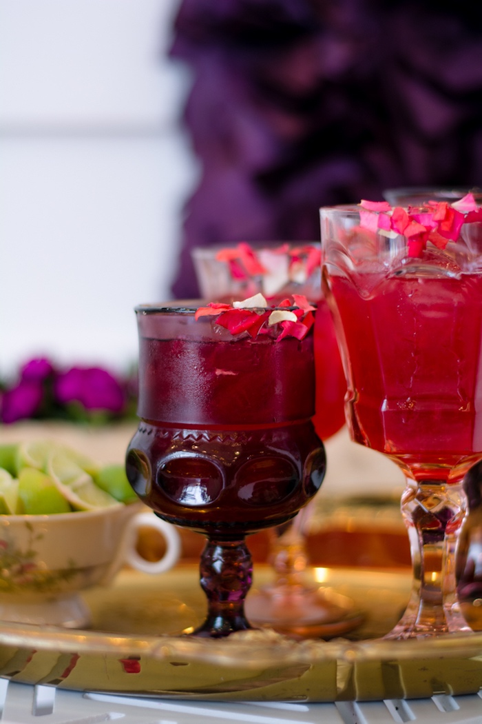 Drink glasses fro a Tea & Toast Mother's Day Party on Kara's Party Ideas | KarasPartyIdeas.com (38)