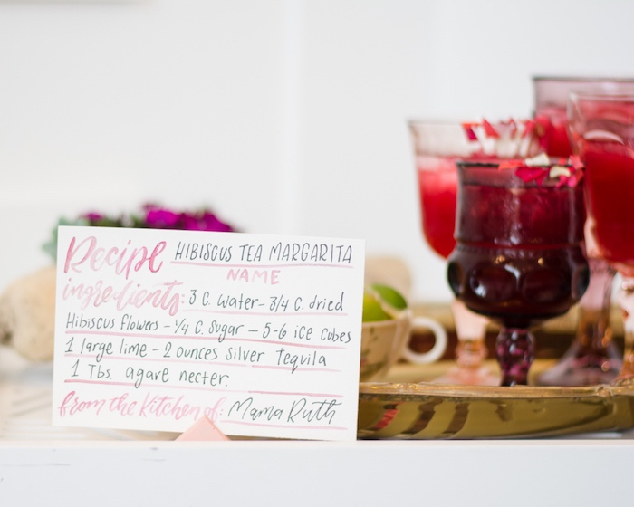 Hibiscus Tea Margaritas from a Tea & Toast Mother's Day Party on Kara's Party Ideas | KarasPartyIdeas.com (37)
