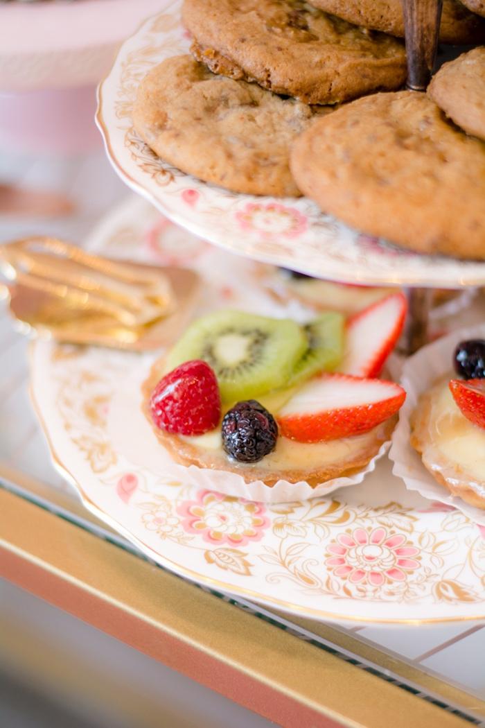 Fruit tart from a Tea & Toast Mother's Day Party on Kara's Party Ideas | KarasPartyIdeas.com (32)