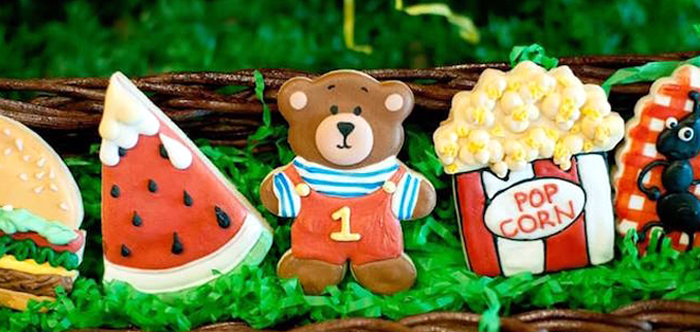 Teddy Bear Picnic Birthday Party on Kara's Party Ideas | KarasPartyIdeas.com (4)