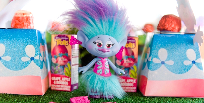 Trolls Birthday Party on Kara's Party Ideas | KarasPartyIdeas.com (5)