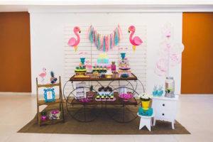 Tropical Flamingo Birthday Party on Kara's Party Ideas | KarasPartyIdeas.com (22)