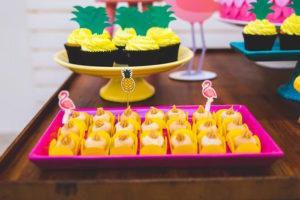 Sweets from a Tropical Flamingo Birthday Party on Kara's Party Ideas | KarasPartyIdeas.com (30)