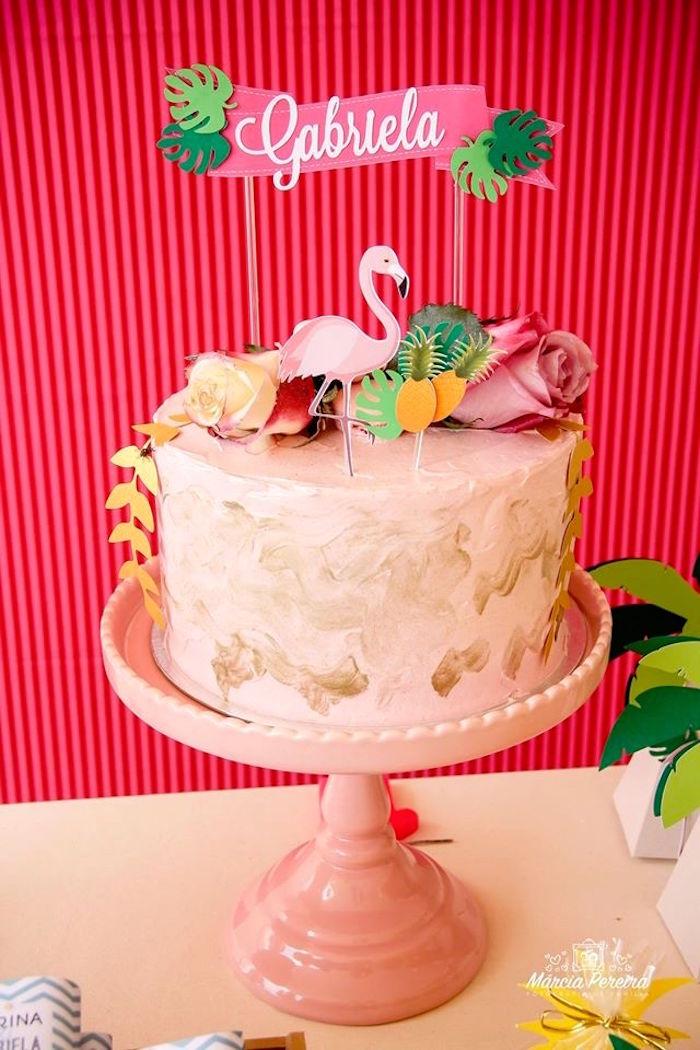Kara's Party Ideas Tropical Flamingo Pool Party   Kara's ...